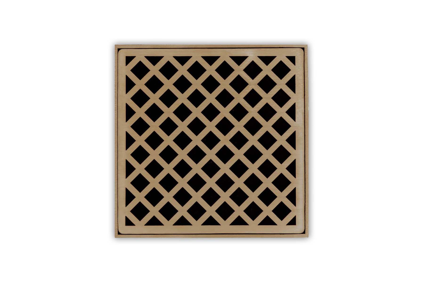 Bronze Shower Drain Plate