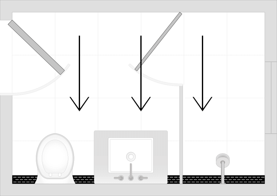 Shower Pan Slope Code