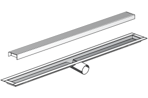 Linear Shower Drain and Trench Drain Systems | Infinity Drain
