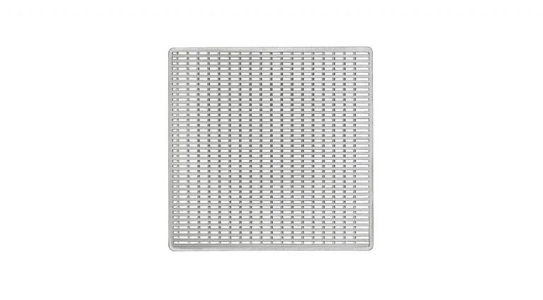 """Wedge Wire 4""""x4"""" Satin Stainless"""