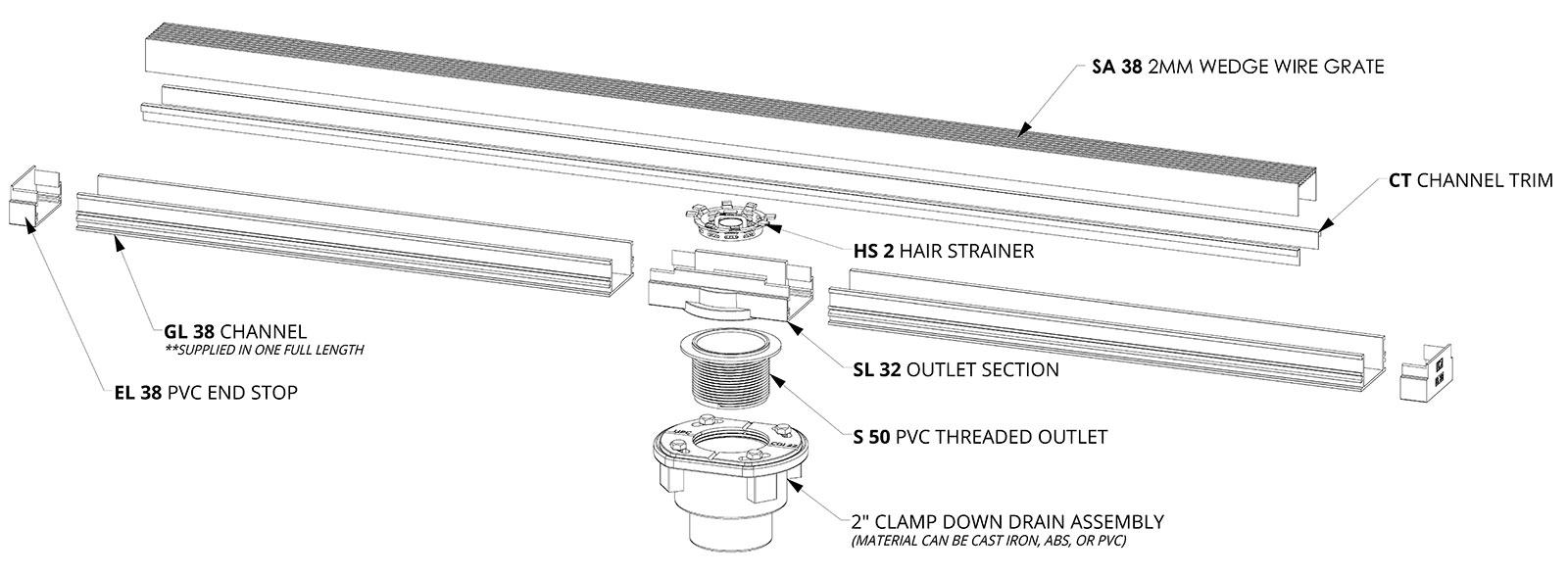 S-LAG 38 Kit