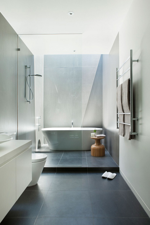 Gray Slate Wet Room