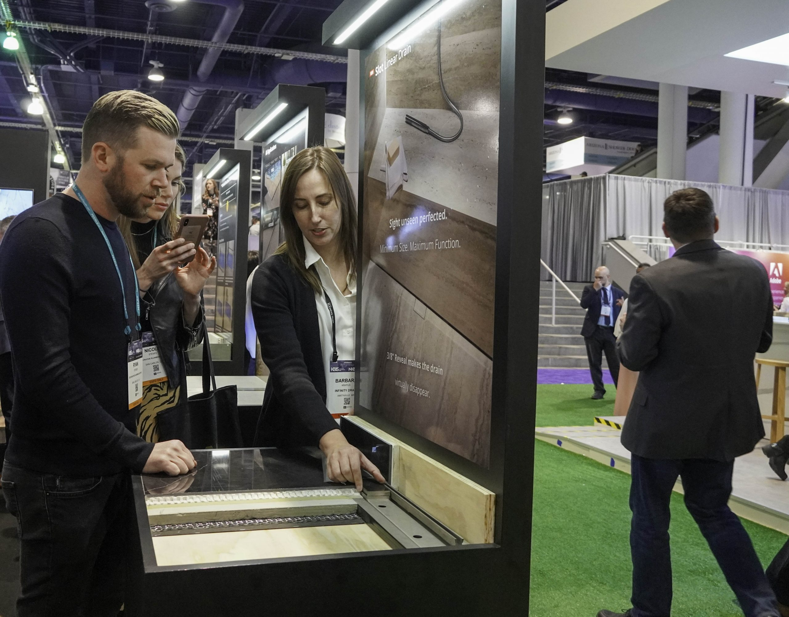 Infinity Drain Previews New Introductions and Booth Events Ahead of KBIS 2021