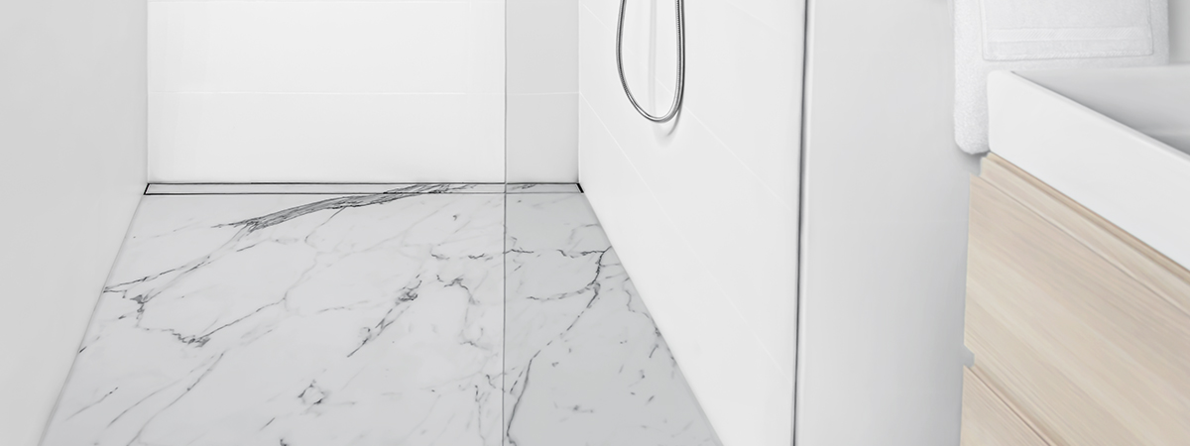 How to Install a  True Wall-to-Wall Linear Drain  with Infinity Drain
